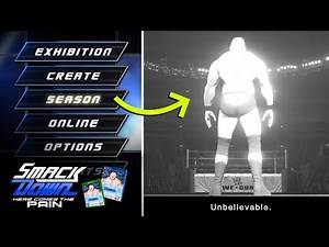 WWE Smackdown Here Comes The Pain Remaster (Season Mode Concept)