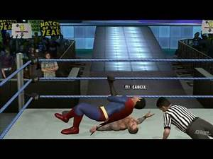 WWE SmackDown vs Raw 2010 Superman vs Randy Orton TRUE-HD QUALITY