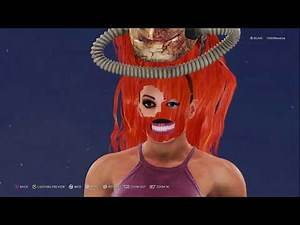 WWE 2K20 Superstar Creation Glitch Ft. Becky Lynch