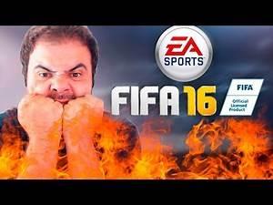 FIFA 16 – PARTIDA MALDITA! PASSANDO RAIVA!