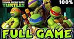 Nickelodeon Teenage Mutant Ninja Turtles FULL GAME 100% Longplay (X360, Wii)