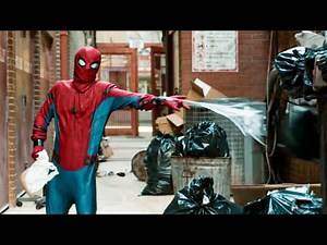 Spider-Man Homecoming Suit Up scene & Stan Lee Cameo
