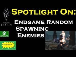 Skyrim (mods) - Mercy - Endgame Random Spawning Enemies