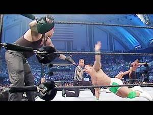 The Undertaker & John Cena vs. Kurt Angle & Chris Jericho: SmackDown, July 11, 2002