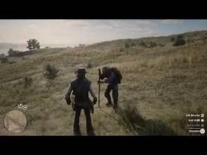Red Dead Redemption 2 - Blind Man Cassidy talks about the Strange Man