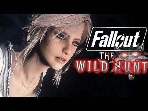 Fallout 4 - CIRI THE COMPANION - Wild Hunt With Ciri (Fallout 4 Mods)