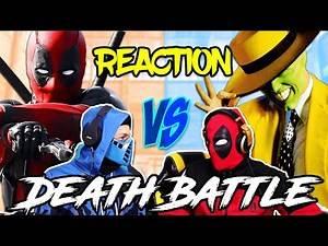 Deadpool and Sub-Zero React to Deadpool VS The Mask Death battle! | MK11 PARODY!
