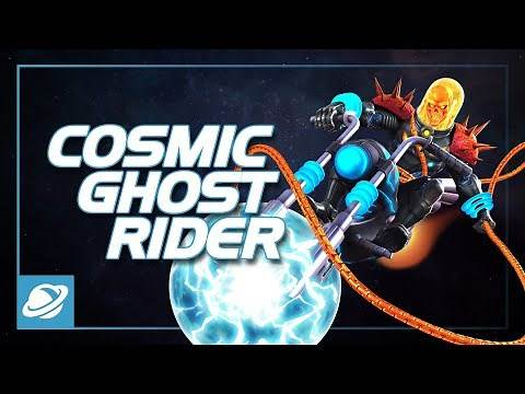 Cosmic Ghost Rider Special Moves | Marvel Contest of Champions