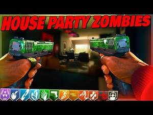 NEW HOUSE PARTY ZOMBIES MAP   CUSTOM ZOMBIES   CALL OF DUTY BLACK OPS 3