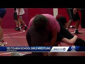 New Mexico becomes 18th state to sanction girls high school wrestling