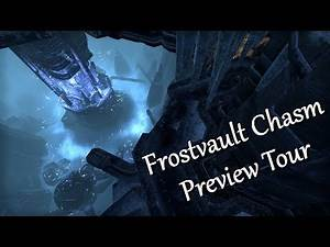 Frostvault Chasm Preview Tour   ESO Wrathstone DLC