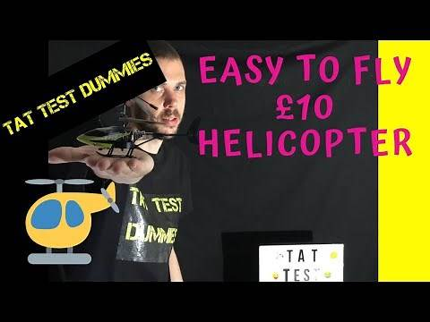 A Cheap £10 RC Helicopter | Armor Hawk RC Helicopter Review
