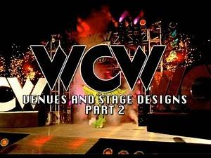 Wrestling Talk - WCW Venues and Stage Designs Part 2