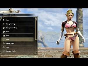 SOULCALIBUR 6 - Character Creation & Customization (Soulcalibur 2018) PS4 Pro