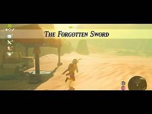 Legend of Zelda Breath of the Wild The Forgotten Sword Gameplay Walkthrough