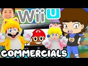 The WORST Wii U Commercials - ConnerTheWaffle