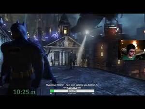 Batman Arkham City 100% Story Mode Speedrun in 4:00:04 PB