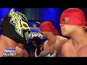 Conflict between partners : SmackDown Fallout, July 30, 2015