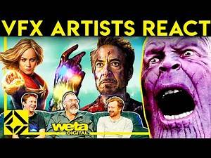 VFX Artists React to AVENGERS ENDGAME Bad & Great CGi