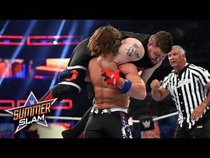 AJ Styles and Kevin Owens fight tooth-and-nail for the U.S. Title: SummerSlam 2017 (WWE Network)
