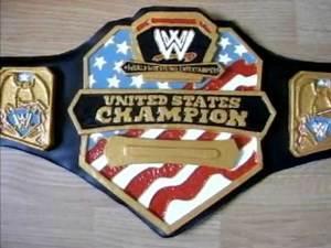MY HOMEMADE WWE UNITED STATES CHAMPIONSHIP BELT