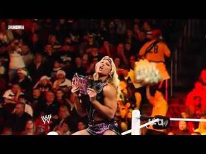 WWE RAW 12/19/11 | Alicia Fox vs. Beth Phoenix