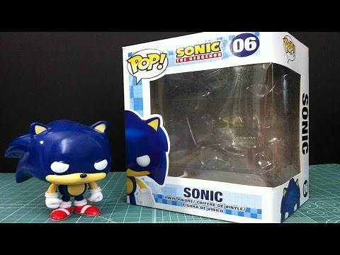 Funko Pop! Sonic The Hedgehog Review & Unbox
