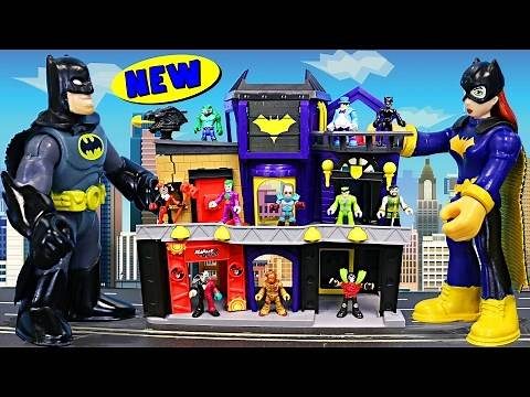 Batgirl City with Batman and Villains in Gotham City   ToysReviewToys   Kids Toys