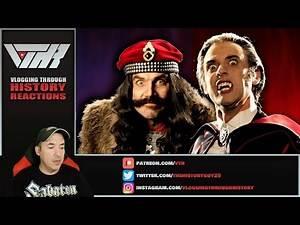 A Historian Reacts - Vlad the Impaler vs. Dracula - Epic Rap Battles of History