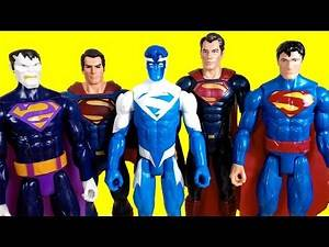 Superman toys collection | Electric Superman | Heat Vision Superman | bizarro | #SurpriseEggs4k