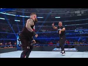 Shane McMahon VS Kevin Owens Ladder and Career Match | Part 1 SmackDown 10/4/19