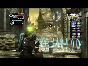 Gears of War 3 - Solo Horde on Jacinto (Full Gameplay) - Super Reload - Part 2/3