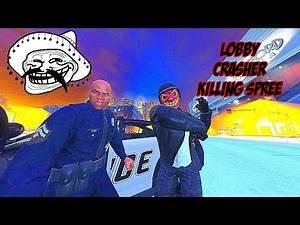 GTA 5 ONLINE KILLING SPREE BIGGEST LOBBY CRASHER