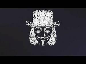 Anonymous RAP - Kinetic Typography (synced) Lyrics