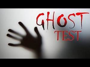 IS THERE A GHOST LIVING IN YOUR HOUSE?