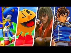 Evolution of Guest Characters in Super Smash Bros. Games (2008 - 2018)