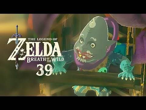 The Legend of Zelda: Breath of the Wild - 39 - Scary Monsters and Nice Sprites