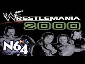 WWF Wrestlemania 2000 - Nintendo 64 Review - HD