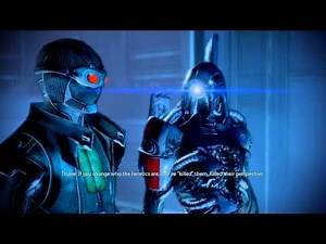 Mass Effect 2 - Squad Members' Opinion On Legion's Loyalty Mission