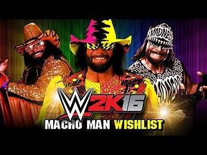 Top 5 Macho Man Attires We Want for WWE 2K16