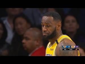 Los Angeles Lakers vs New York Knicks 1st Half Highlights   January 7, 2019-20 NBA Season