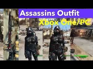 Fallout 4 Xbox One Mods|Assassins Outfit