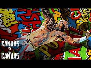 The One and Only's First Official WWE Portrait: WWE Canvas 2 Canvas