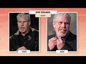 Sons of Anarchy Then and Now Before After