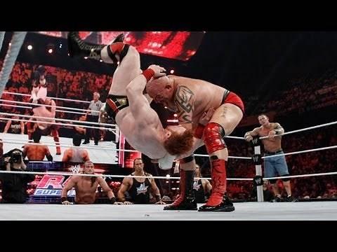 Cena & Sheamus vs. Ziggler, Swagger & Tensai
