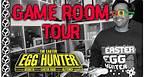Game Room Tour - The Easter Egg Hunter