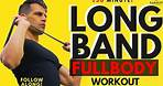25 min. GREAT FULL BODY Resistance Band Workout | At Home Strength Workout