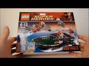 LEGO 76006 Iron Man Extremis Sea Port Battle