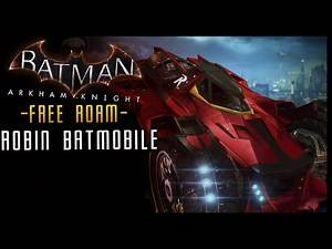 Batman Arkham Knight: DLC Robin (Red Bird) BATMOBILE Skin & LORE