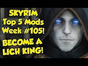 Skyrim Top 5 Mods of the Week #105 (Xbox One Mods)